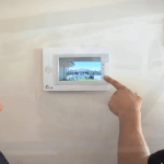 Security Alarm Touchscreen Panel