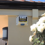 SMS Security Home Alarm Sticker