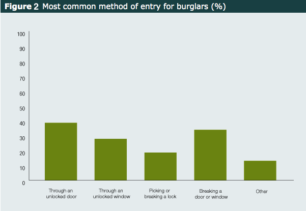 Burglar Common Forms Of Entry